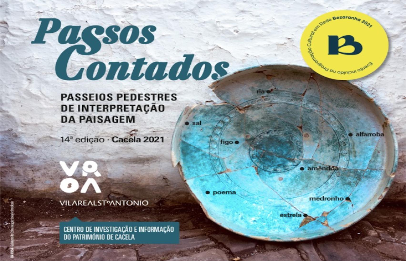 Passos Contados -  O pomar tradicional de sequeiro (o figo, a amêndoa e a alfarroba) no Barrocal Algarvio